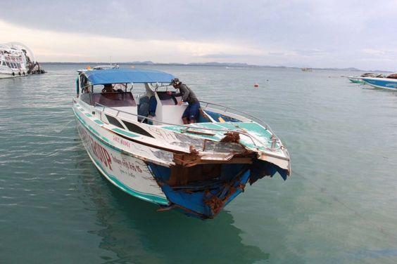 ส่องข่าวโลก : โขลกเป็นภาษาไทย: The 28 Revellers Injured In Koh Samet Boating Acci...