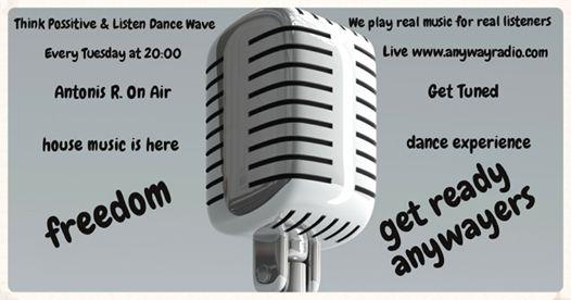 Παγκόσμια ημέρα αγκαλιάς σήμερα, να η ευκαιρία να αγκαλιάσετε κάποιον που θέλετε  Καταμεσής της εβδομάδας κατρακυλάμε με χάρη προς το Σαββατοκύριακο και τις εκλογές...  Είμαστε στον αέρα του Anyway Radio , Antonis R. & Dance Wave μέχρι τις 22:00 !! Get tuned & listen real music  Volume_up ► PLAY ▂ ▃ ▅ █ Join us! ►www.anywayradio.com
