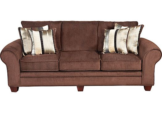 Shop for a Jersey Chocolate Sofa at Rooms To Go Find Sofas that