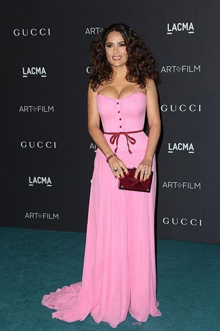 Salma Hayek en Gucci