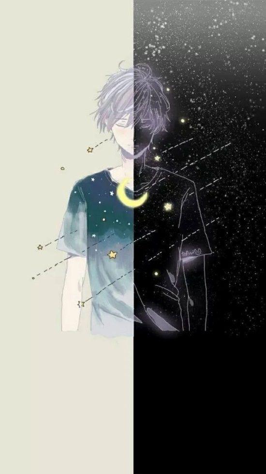 Gambar Anime Di 2020 Seni Gelap Ilustrasi Seni Karakter