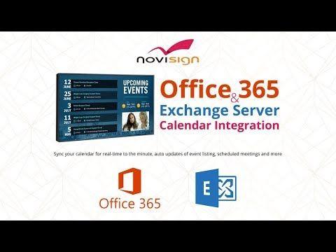 Microsoft Outlook Calendar Office 365 Integration With Digital