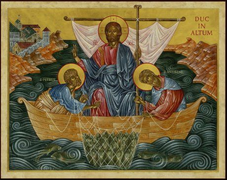 St. Andrew and St. Peter Icon: