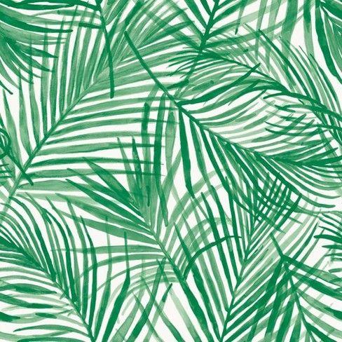 Tropical Peel Stick Wallpaper Green Opalhouse In 2021 Tropical Wallpaper Aesthetic Wallpapers Green Aesthetic