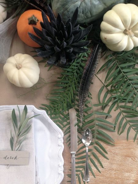 Fall table inspiration... – Greige Design