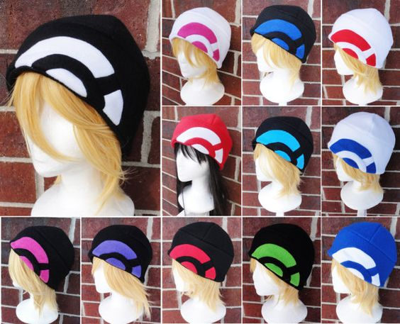 Hey, I found this really awesome Etsy listing at https://www.etsy.com/listing/170645799/pokemon-x-y-trainer-hat-a-winter-nerdy