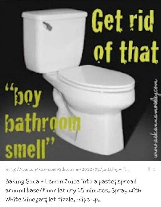 Boys Boy Bathroom And Boy Bathroom Smell On Pinterest