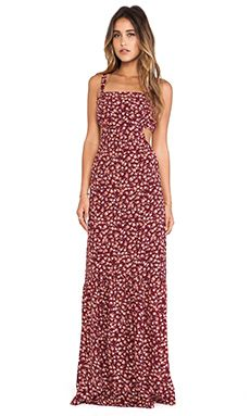 FLYNN SKYE Farrah Maxi Dress in Rusty Dawn | REVOLVE