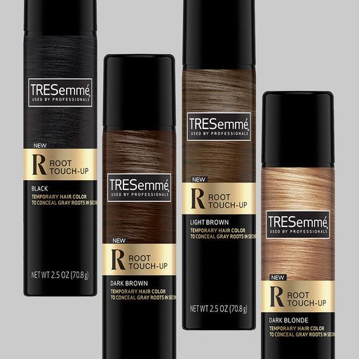 Tresemme Root Touch Up Temporary Hair Color Spray Light Brown