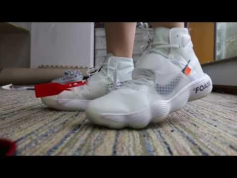 Muy enojado acceso Islas del pacifico  Off-White X Nike React Hyperdunk 2017 Flyknit on Foot Look | Best sneakers,  Flyknit, Sneakers