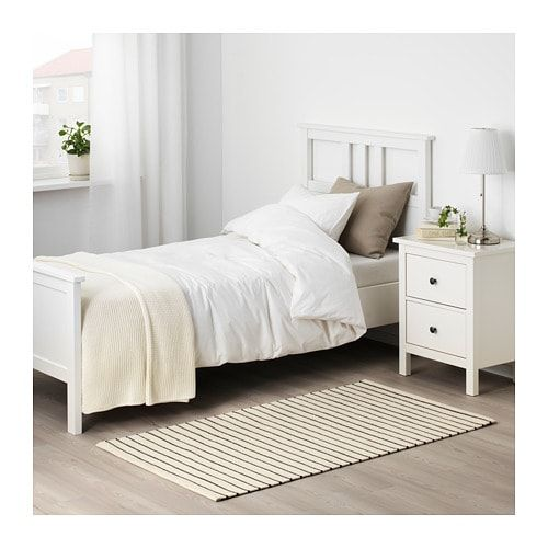 Torslev Rug Flatwoven Stripe White Black Ikea Flatwoven Ikea Rug Furniture
