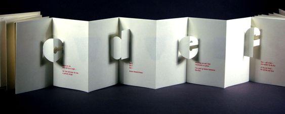 Folded 3D paper card