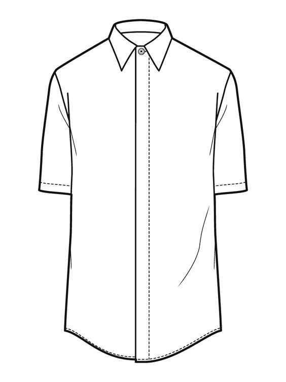 Line Drawing Shirt : Line drawing http wingavenue fashion flats