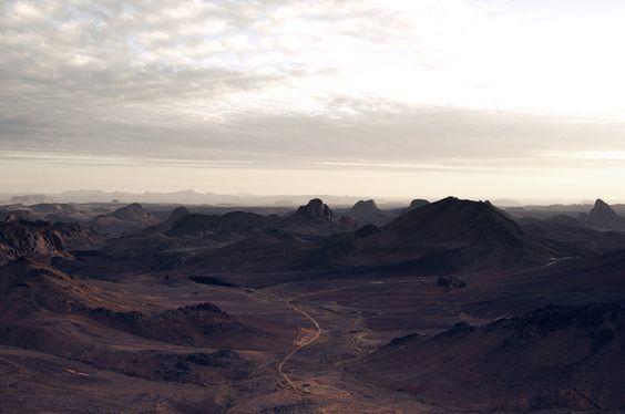 Algeria on the Moon by Maxime Quoilin, via Behance