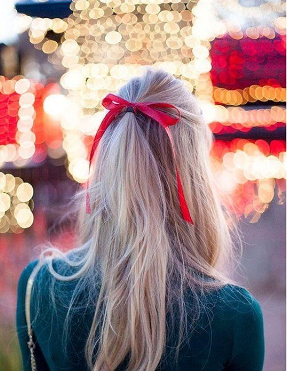 Os melhores penteados para o Natal/ Ano novo!