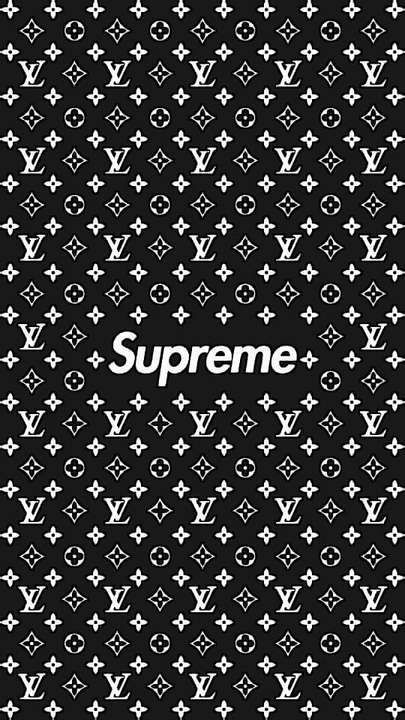 Free Download Wallpaper Iphone Xs Xr Xs Max Supreme Wallpaper Lv Black And White In 2020 Supreme Wallpaper Supreme Iphone Wallpaper White Wallpaper For Iphone