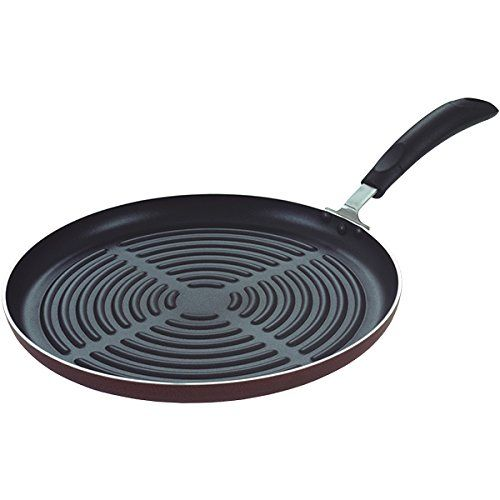 Grill Pan 12 Inch Griddle Pan Professional Cookware For Flavor Enhancing Easy To Clean Round Grill Pan Grill Pan Pan Frying Pan