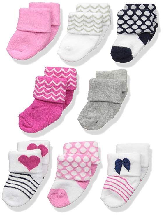 Boy Shoes 6-Pack Luvable Friends Boy Newborn Socks