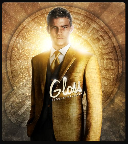 Alan Ritchson is Gloss. Click this picture to see his ...