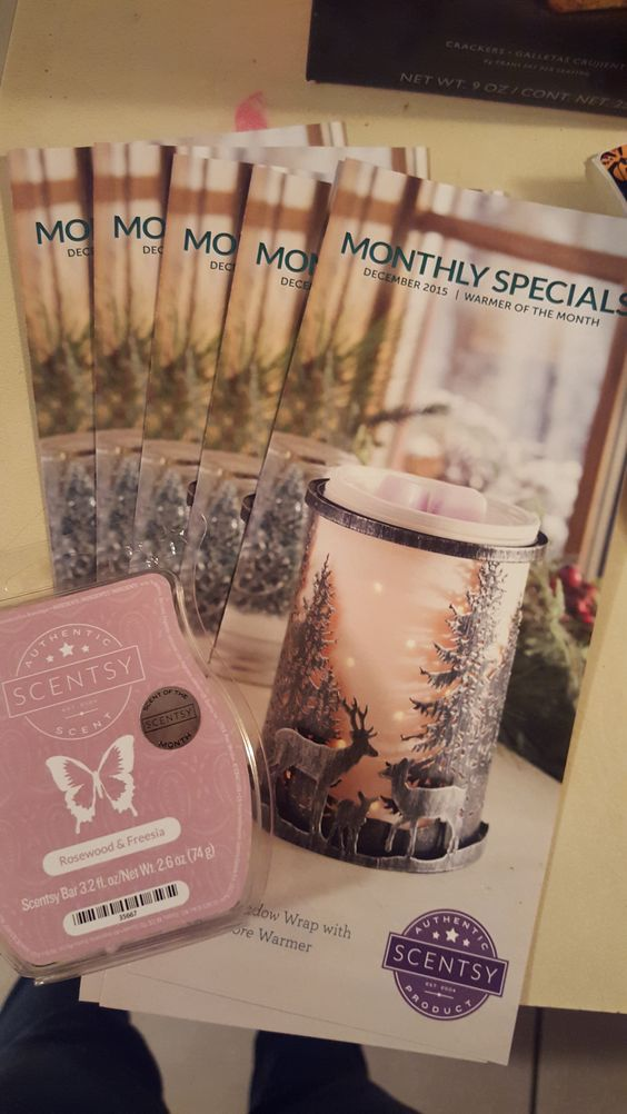 I have my Warmer and Scent of the month for December!  Forest Meadow Wrap with Etched Core Warmer. Rosewood & Freesia  Want and flyer with a sample? Message me today! Or click the photo and itll take you to my fb! :) www.rachelnicole.scentsy.us