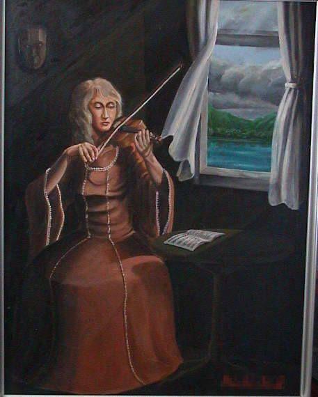 my art  自分の作品はほぼ静寂と風を下敷きにしてます、この頃フェルナンクノップフを知ったのではないかと・・・・