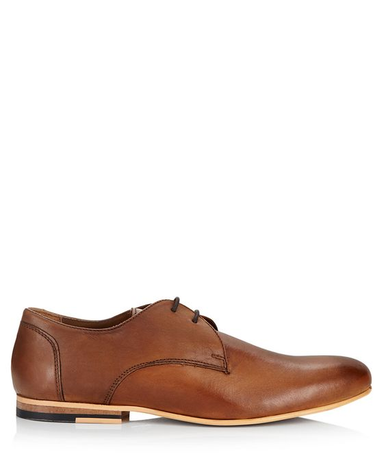 Shay tan leather laced shoes by KG Kurt Geiger on secretsales.com