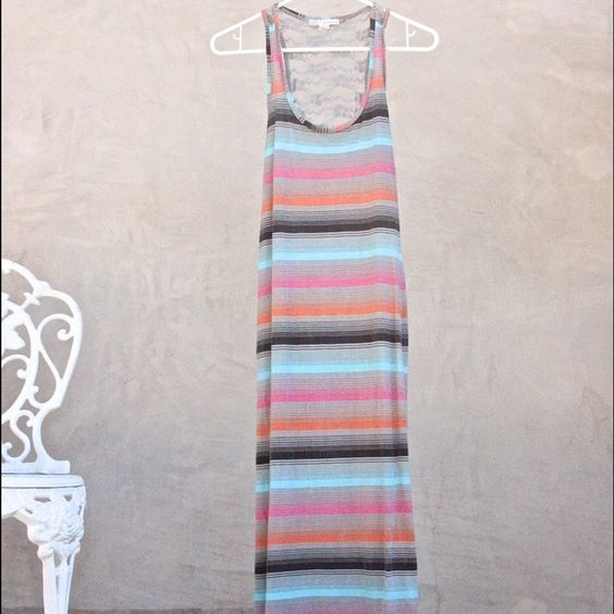Selling this Sexy Striped Maxi with Lace back in my Poshmark closet! My username is: holisticmama76. #shopmycloset #poshmark #fashion #shopping #style #forsale #Derek Heart #Dresses