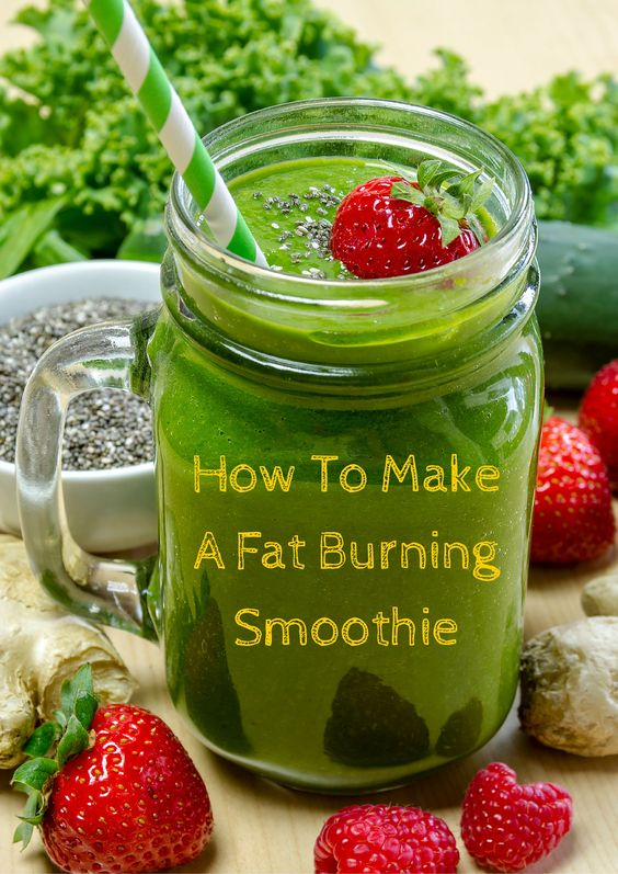 Fat burning, Smoothie and Purpose on Pinterest