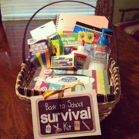 The Terrific Teacher: DIY: Back to School Gift Basket