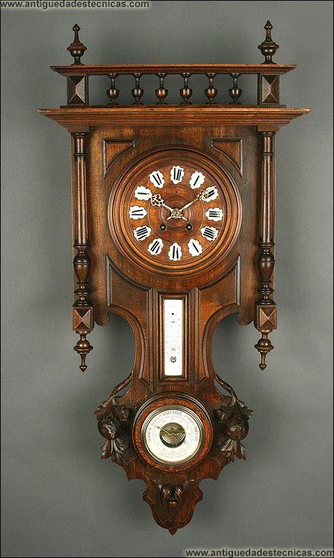 Relojes de pared antiguos de madera - Relojes pared antiguos ...