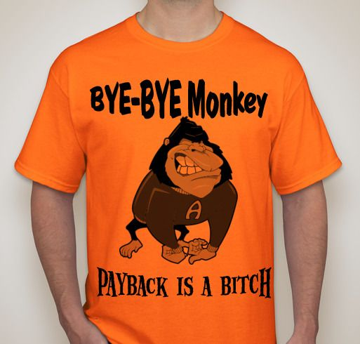 Amusing orange monkeys ass share your