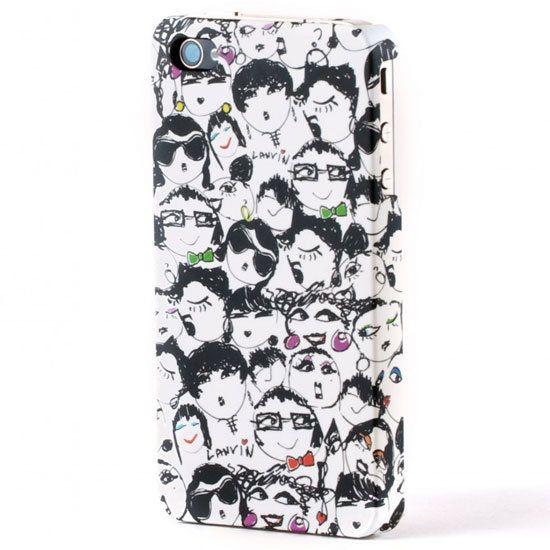 Lanvin Faces iPhone 4 case ($70)