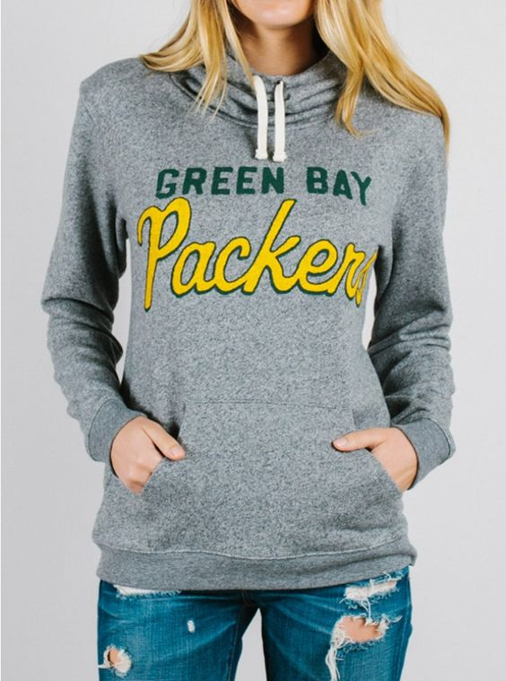 NFL Green Bay Packers Hoodie - Tops - Womens