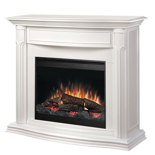 "Overall: 43.75"" H x 49"" W x 18.5"" D Dimplex Addison Electric Fireplace (high reviews)"