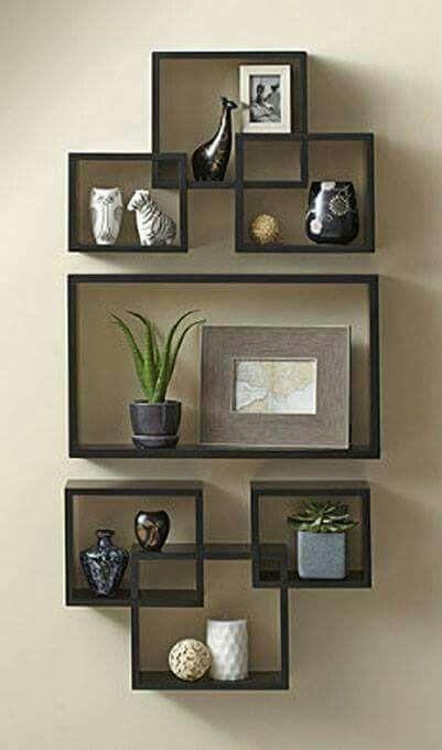 O R G A N I Z E Floating Shelves Living Room Living Room Shelves Wall Shelves Design