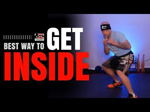 Best Way To Get Inside In Boxing Youtube Boxing Techniques Boxing Workout Heavy Bag Workout