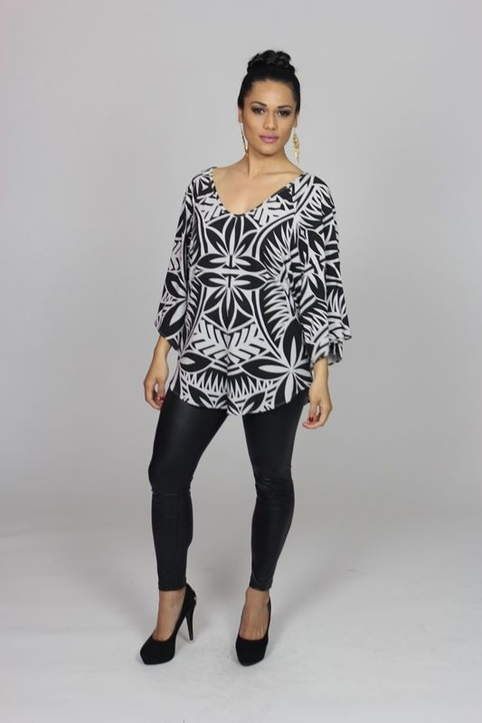 Nafanua Top - : SHOP ONLINE-Womens : Resort Clothing Auckland ...