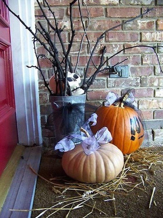 Halloween Outdoor Decoration Ideas Diy