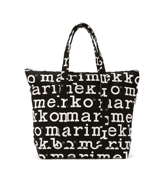 【アジア限定】Marilogo トートバッグ|トートバッグ | marimekko (マリメッコ) 公式通販サイト | LOOK @ E-SHOP