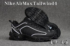 Mens Summer Shoes Nike Air Max Tailwind Tn Kpu 4 Black White Nike Air Max Nike Shoes Air Max Sneakers Nike Air Max