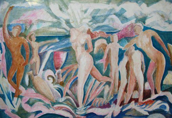 Renacimiento de Venus, panel 3, 1990.