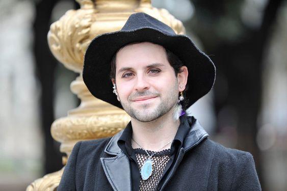 Mérida tiene 26 años y nació en Guaymallén, Mendoza; hoy vive en la ciudad de Buenos Aires, donde cofundó la agrupación Siendo humanes. Fuente: LA NACION - Crédito: Mauro Alfieri