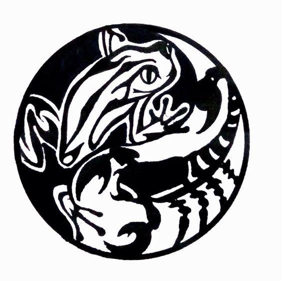 Rana e scorpione