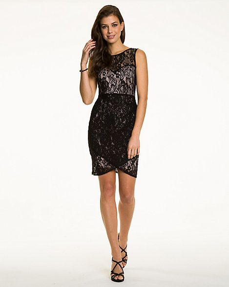 Lace V-Neck Cocktail Dress  Lace Cocktail dresses and Cocktails