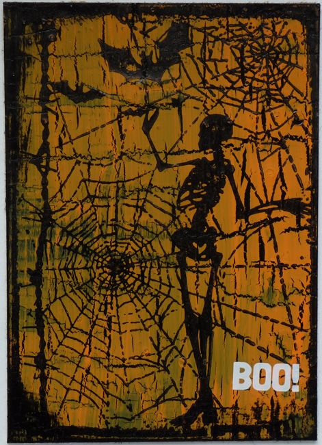 Boo by Christy Butters @TheArtStudio.