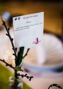Hochzeitsdeko Tunichtgut Naturdeko Bäumchen Fakten über Braut und Bräutigam