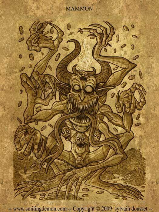 Mammón – El Demonio de La Avaricia B2713a259b2206098e8335d0e8a732db