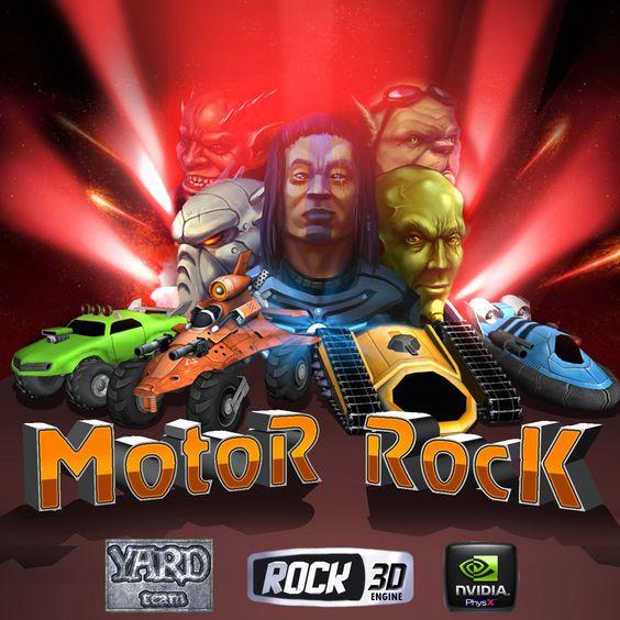 #BlooDGameS : Depois de falhar nas negociações, Motor Rock está disponível gratuitamente.
