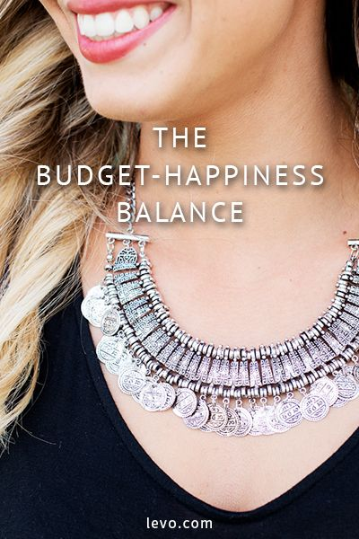 Best way to balance your budget and your happiness. www.levo.com