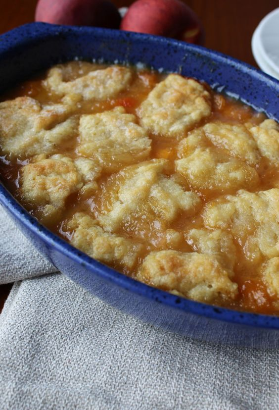 Peach cobblers, Old fashioned peach cobbler and Peaches on Pinterest